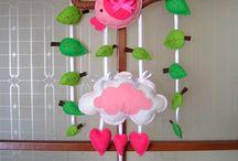 Sevimli Duvar Süsleri / bebeğiniz için birbirinden sevimli duvar süsleri  / by Hamileyim.Net