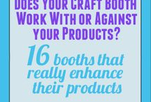 Craft Fair & Vendor Show Tips / Learn great tips that you can use when setting up your next craft show table, booth or vendor display!