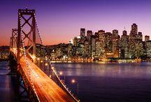San Francisco, SUA / Pierdut printre nori și ceață, Golden Gate este impresionant, dar și orașul în sine te poate fermeca din câteva imagini. Pe mine cu siguranță m-a cucerit deja, așa că vă invit și pe voi să vă delectați cu frumosul oraș San Francisco văzut din nori!