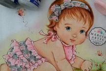 Pinturas em fraldas
