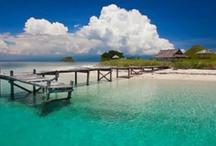Îles de rêve & petits coins de paradis / Les lieux les plus paradisiaques où nous avons eu la chance de poser nos sacs... et ceux qui sont encore sur la liste des lieux à visiter !