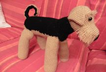 amigurumi dog cat and all