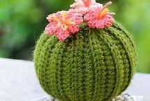 Plant crochet