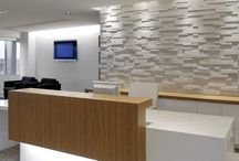 New Clinic Ideas / Reception desk ideas