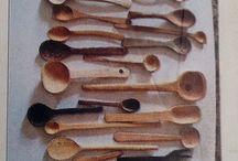 Ideas deco / Colección cucharas de madera