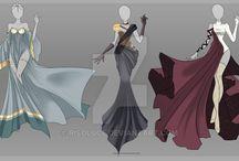 """Evil Dragon Queen"" Material"