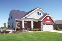 Teak Craftsman C2 - Floor Plan / Jagoe Homes, Inc. Project: Paradise Garden Estates, Teak Craftsman, Elevation: Craftsman-C2, Evansville, IN. Site Number: PGE 1.