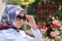 Avonni Ekose Eşarp