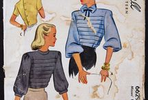 1940's Blouses, Shirts, & Tops