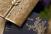Invitation Inspiration / Here are some awesome ways to set up your wedding invitations