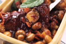 Les viandes cuisinées