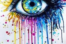 Tape à l'oeil.... / Les yeux