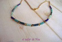 Gargantillas Col. Minimal Collier / Una colección de gargantillas con el concepto mínimo, eso si adornadas por perlas, cristales o pequeños tesoros dorados.