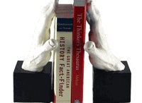 book ends and book shelves / by Paula McDaniel
