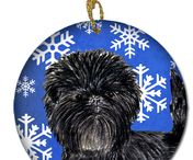 Affenpincher Holiday Gifts / Holiday gifts for Affenpinscher Dog Breed Lovers!