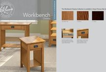 WORKBENCH CLASSICS / Reinterpreting Arts and Crafts styling to deliver greater value, Workbench Classics bring even cleaner lines to familiar silhouettes.