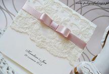 zaproszenia ślubne / zaproszenia ślubne ręcznie robione