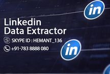 Extract Information From Linkedin