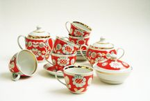 Porcelain Tea or Coffee Set