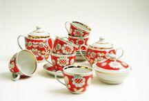 Porcelain Tea or Coffee Set