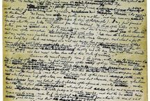 Writers' Manuscripts / Scrawls and strikethroughs - some of our favourite pictures of famous writers' manuscripts