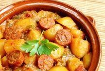 chorizo aux pommes de terre