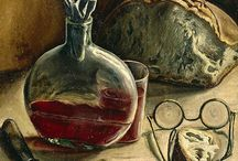⊹ Still LiFe ⊹ aRT - ✿Wine, Tea and coffee - ✿Books and colors