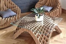 Corrugated Furniture