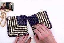 pletené vzory, návody,sešívání, / vysvětlivky pletení, sešívání pleteniny...