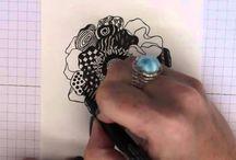 Zentangling