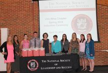 NSLS 2013-2014 / The National Society of Leadership and Success is a leadership honor society at UVa-Wise. / by UVa-Wise Student Life