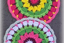 mandalas de crochet!