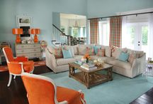 LOVE*Orange and Aqua