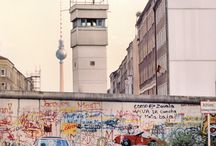 Berlin Wall / Pictures of the Berlin Wall and it's settings before the fall in 1989.