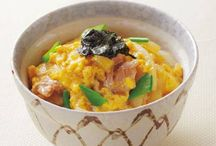 The bowl dish which is popular in Japan