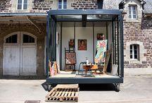 Ateliers d'artistes / Quelques ateliers inspirants et des idées d'aménagement de lieux de travail