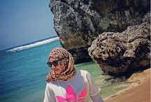 #bali #hijab #muslim #jilbab #liburan #indonesia