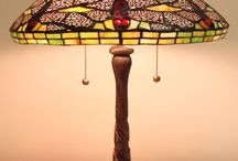 Fine Art Lighting / We Have a great selection of Tiffany lamps on order for spring. Table lamps, mini's and floor lamps.
