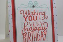 Stampin' Up! - Big On Birthdays
