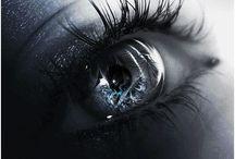 Eyes; windows of the soul