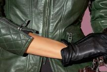 Leather style / Fashion leather