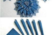 kvetiny z pet,papiru,latky