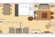 Ontwerp / Interieurvormgeving begint bij een logistiek en/of creatief ontwerp