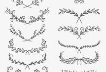 desenhos florais