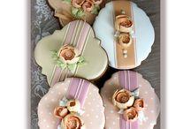 Cookies 3D flowers