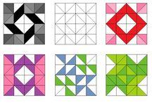 Triangle Quilten
