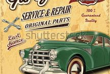 Carros y Motos vintage