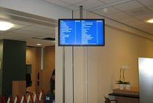 The Diaconesse Hospital / Diaconesse wanted to make wayfinding around the hospital as straightforward as possible. ONELAN digital signage was chosen as the best solution for communicating with patients and to control the flow of patients coming into the hospital.
