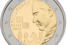Monedas 2 euros Estonia