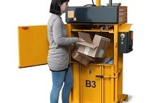 Stock Room Balers / Small foot print balers for stock rooms with limited space